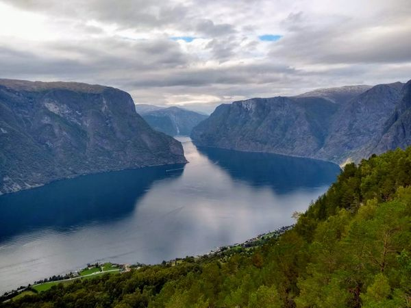 Aurland Valley and Stegastein