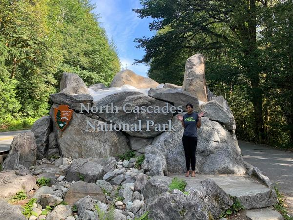 North Cascades: Diablo Lake and Thunder Knob Trail